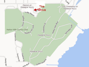 Th Grove in Harbor Hills